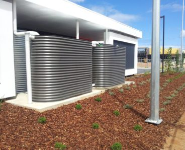 steel rainwater tanks adelaide sa south australia southern suburbs northern suburbs bluescope bushfire tanks