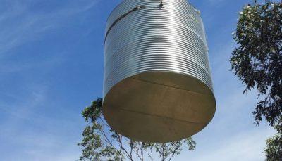 taurus tanks delivery adelaide sa tank crane how to deliver a steel tank australia sa