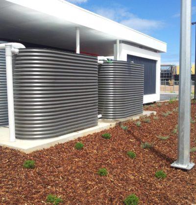 steel rainwater tanks adelaide sa south australia southern suburbs northern suburbs bluescope bushfire tanks
