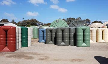 bushmans slimline rainwater tanks adelaide