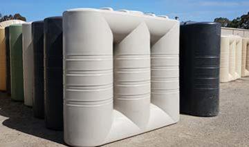 bushmans slimline poly rainwater tanks adelaide sa vic bendigo ballarat