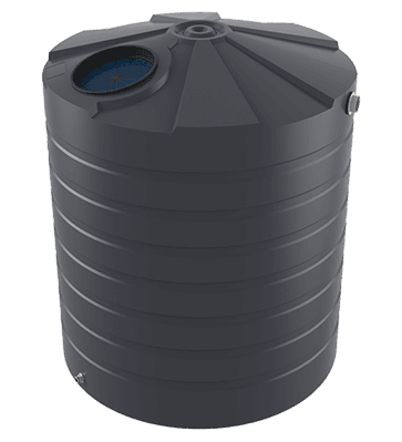 bushmans 5000l litre poly rainwater tank TT1100 grey sa vic nsw qld