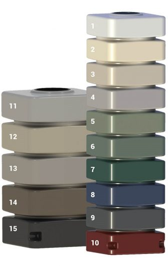 maxiplas poly rainwater tanks adelaide available colour options colour chart