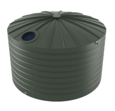bushmans tdx5000 poly rainwater tank dome top pole less design australia adelaide sa vic nsw qld ballarat bendigo