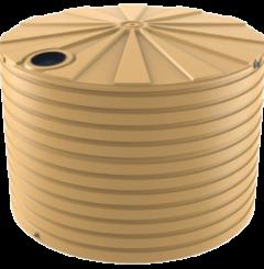 bushmans T6500 30,000 litre rainwater poly round tank australia
