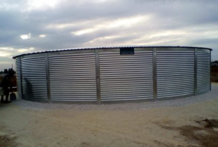 commercial steel large industrial rural farm tanks australia vic sa nsw qld nt