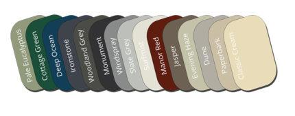 available colours bluescope colourbond raised garden beds adelaide sa south australia